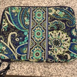 Vera Bradley Rhythm and Blues Laptop Case